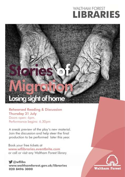 Stories of Migration- Poster