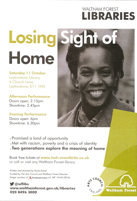 new losing sight of home poster!