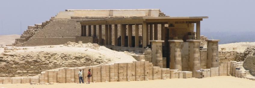 Saqqara temple