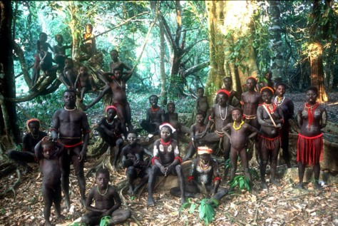 A clan of the Jarawa. Only a few dozen Jarawas exist now.