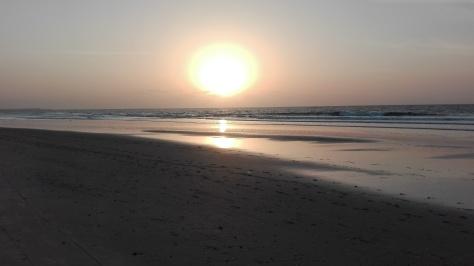 coco ocean beach sunset